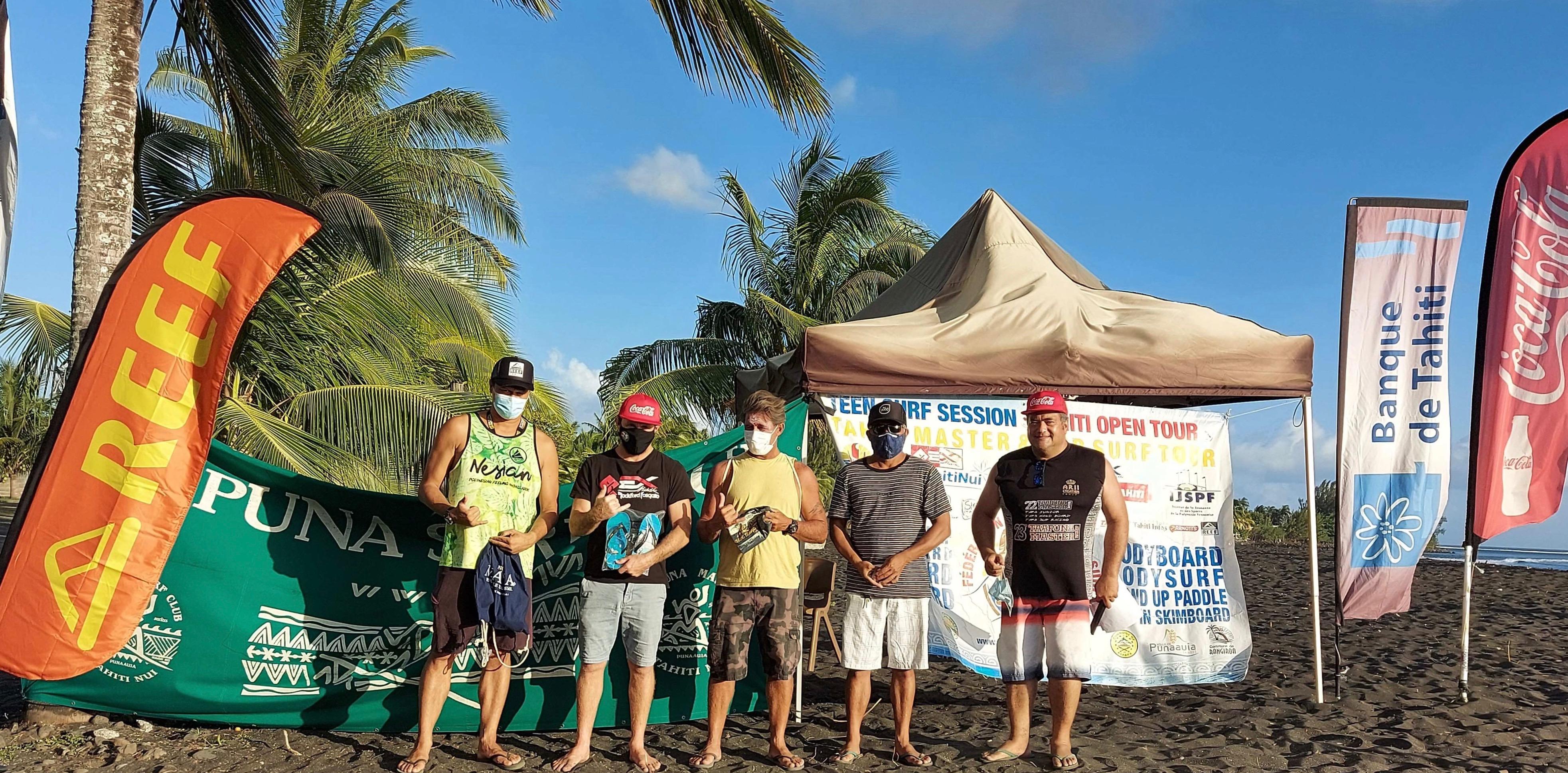Tahiti Master Tour 2020