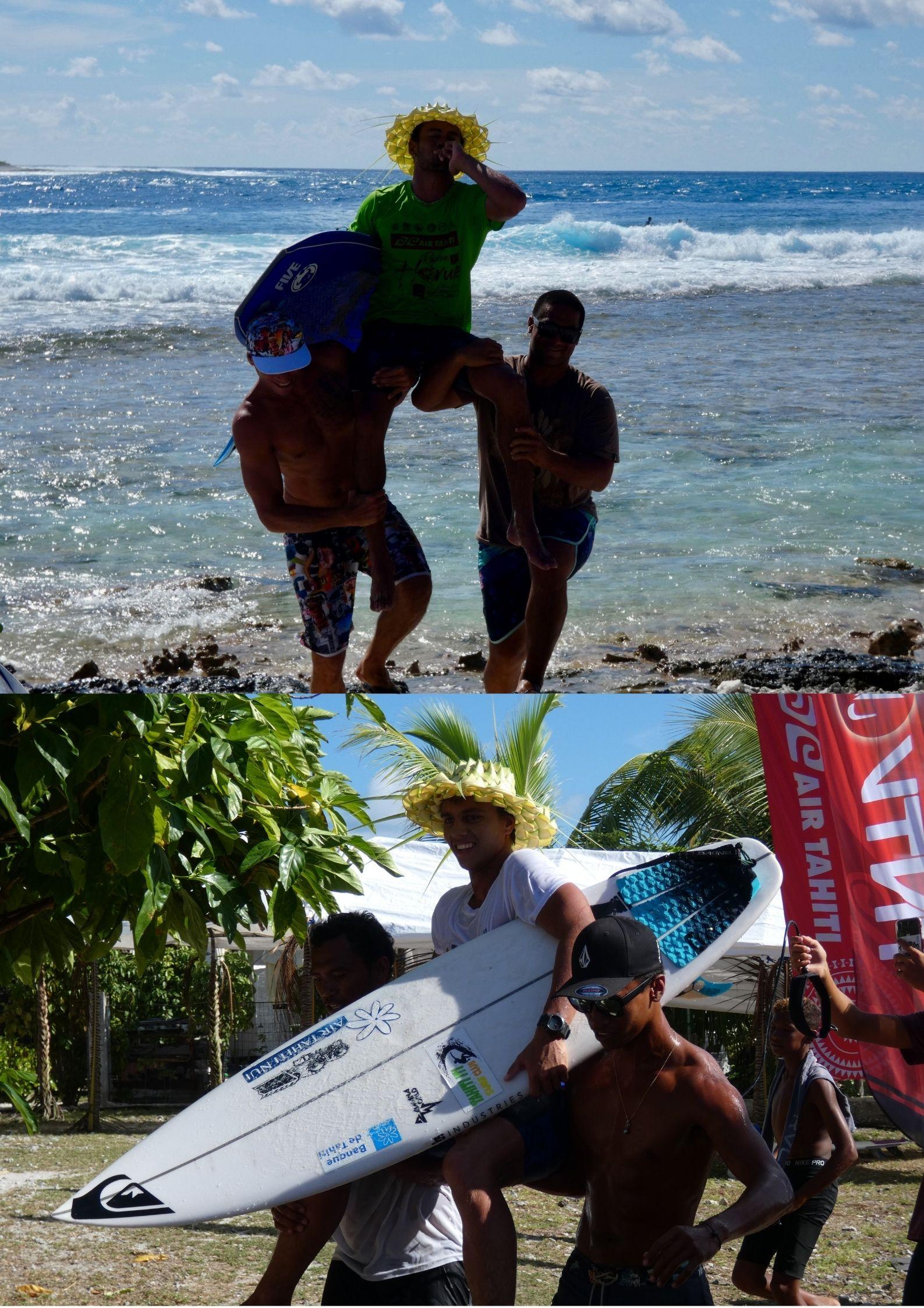 James OMITAI et Kauli VAAST – Grands vainqueurs de la Air Tahiti Rairoa Horue 2021